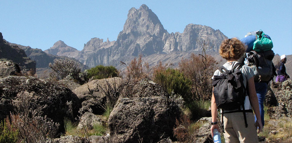 4 Days Adventure Mount Kenya Sirimon Down Chogoria
