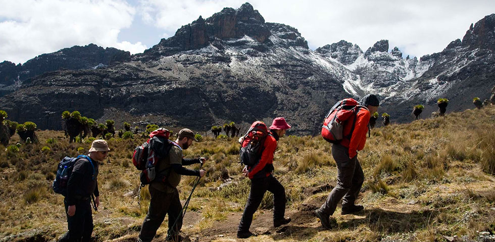 5 Days Mount Kenya Adventure Sirimon Down Sirimon Route