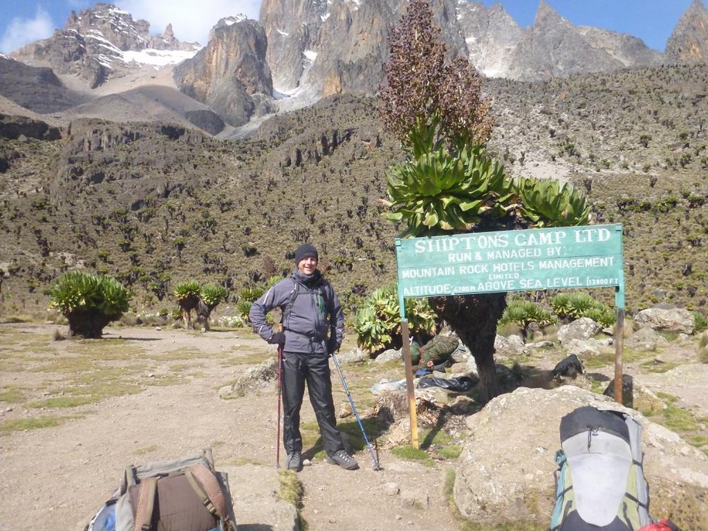 5 Days Mount Kenya Adventure Sirimon Down Sirimon Route