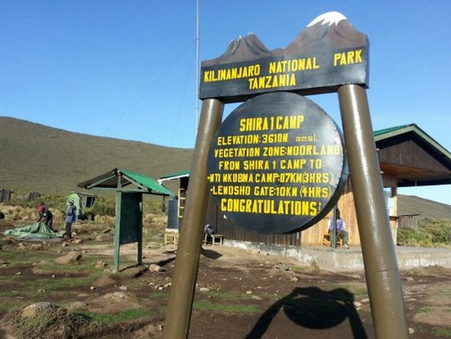 Kilimanjaro National Park Tanzania.