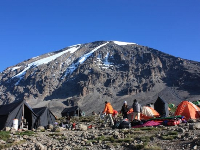Marangu Route Climbing